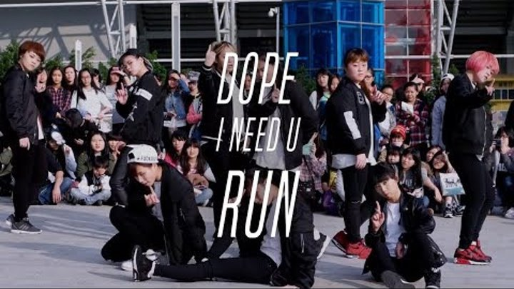 160109 BTS(방탄소년단) _ DOPE + I NEED U + Run Dance Cover by DAZZLING from Taiwan
