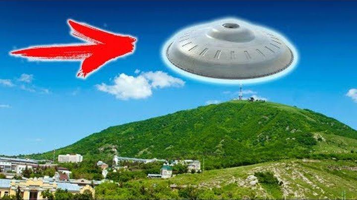 НЛО десант над Кисловодском - видео очевидцев 2017 HD (UFO)