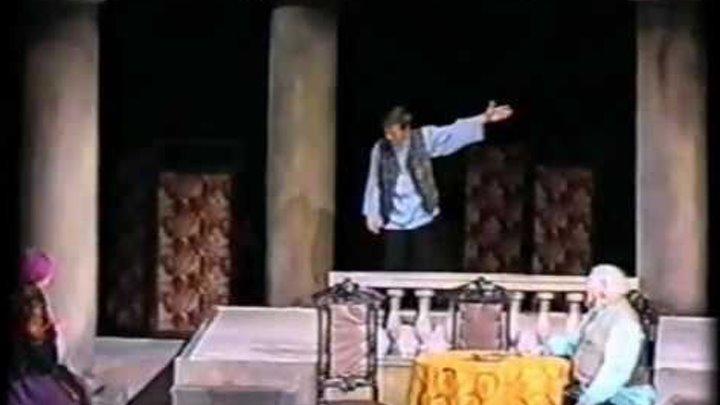 """Павел Ондрин, отрывки из сп-ля: """"Женитьба Белугина"""" 99г."""
