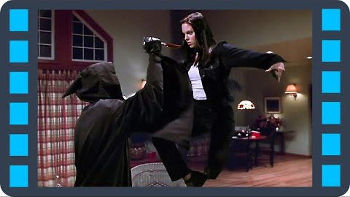 """Очень страшное кино - Сцена 7/7 """"Пародия на матрицу"""" (2000) QFHD"""