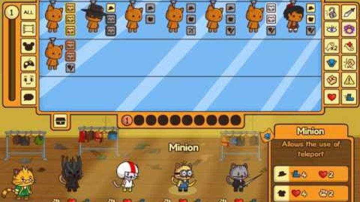 играем в ударный отряд котов 2 (1 часть) начало