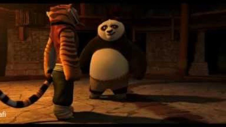 Kung Fu Panda Po and Tigress - Give Me A Sign