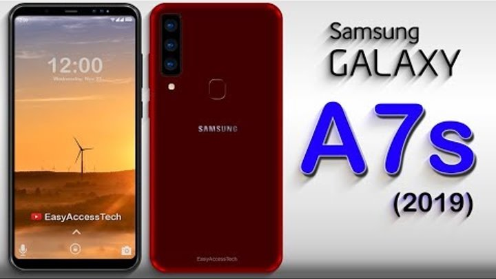 Samsung Galaxy A7s (2019) - Triple DSLR Camera, 6GB RAM, 5G Network, Specification, CONCEPTS!