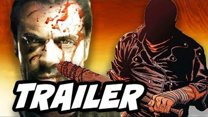 Walking Dead Season 6 Episode 16 Negan Finale Trailer Breakdown