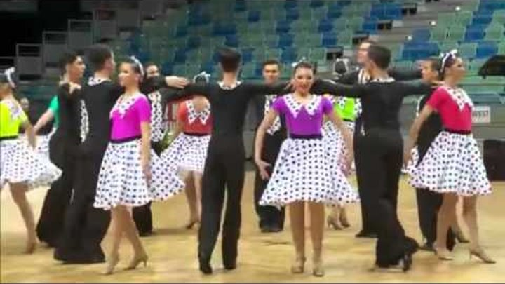 Potaissa Turda | Remember Elvis | 2015 World Formation Latin | Preliminary