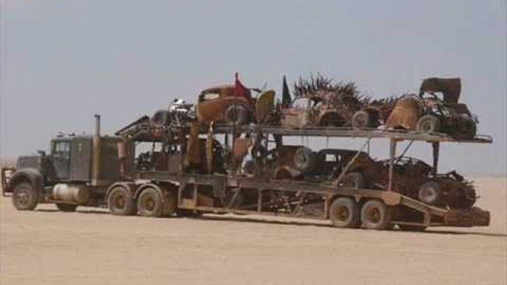 Mad Max 4 Fury Road Vehicles Part 3 Tom Hardy - Stunts - Cars