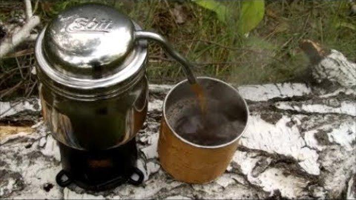 Походная кофеварка гейзерного типа фирмы Esbit