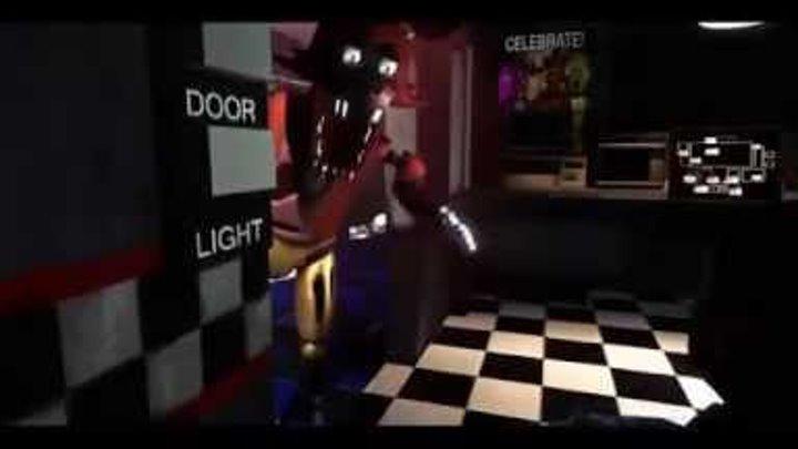 Пять ночей с мишкой Фреди охранник в шоке 1