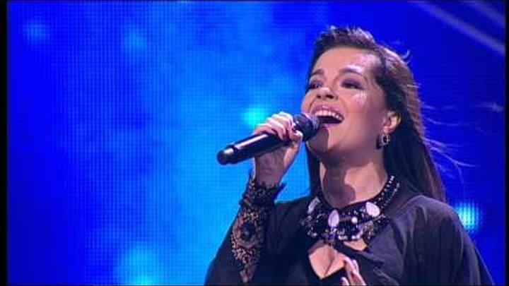 """Диана Хашимханова. С. Ротару - Лебединая Верность"""". X Factor Казахстан.3 концерт.12 серия.5 сезон."""