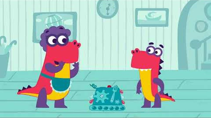 «Заврики». Серия 06 «Генератор чуда» HD   Развивающие мультики для детей