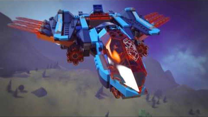 LEGO® NEXO KNIGHTS™ 70351 - Самолёт-истребитель «Сокол» Клэя