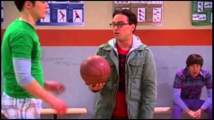 Big Bang Theory Ita 5x17 - Sfida basket Sheldon vs Kripke