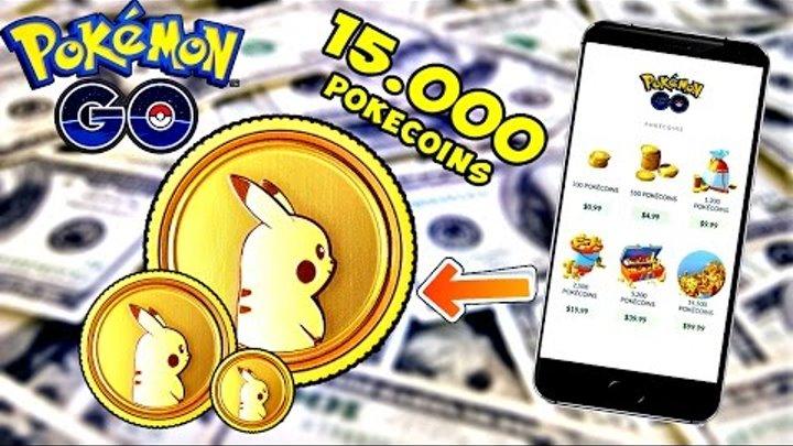 Pokemon Go / Покемон Го ► САМЫЙ большой ДОНАТ в игру 100$ на 15.000 монет ► #34