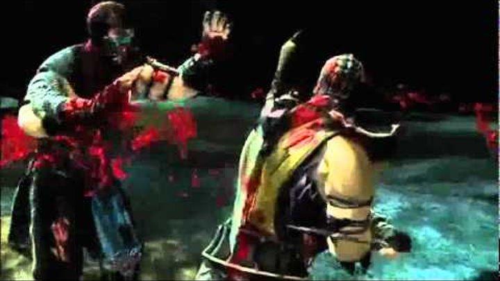 Mortal Kombat 9 ( MK 2011 ) - Fatality Compilation 05