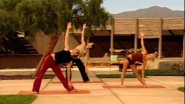 Йога для начинающих с Джерри Холливел