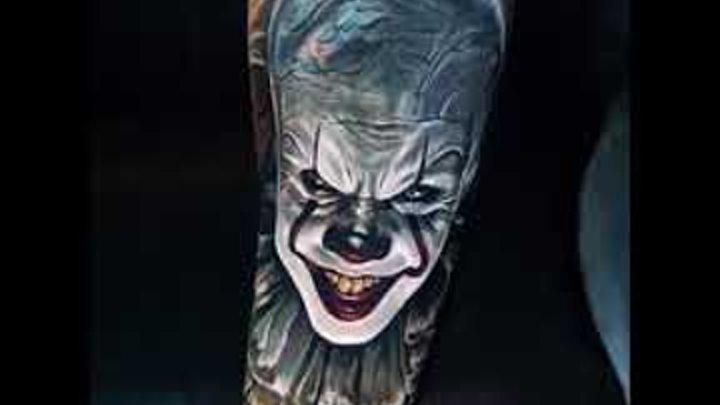 Значение тату клоун - фото примеры интересных готовых рисунков татуировки.