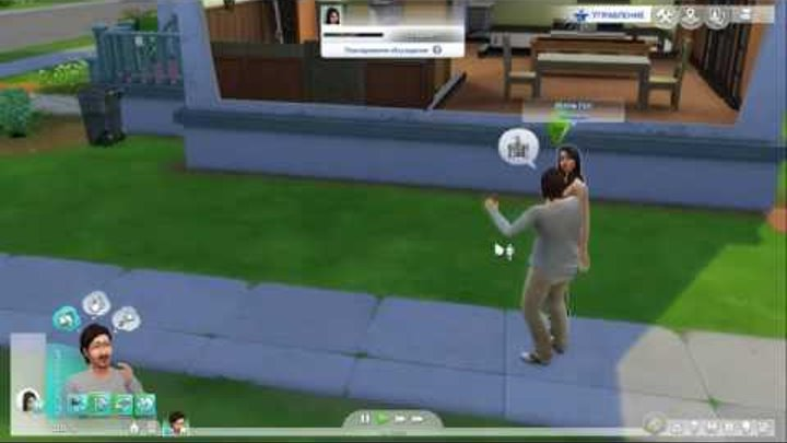 Sims 4 #2 Прохождение (Xbox One S)