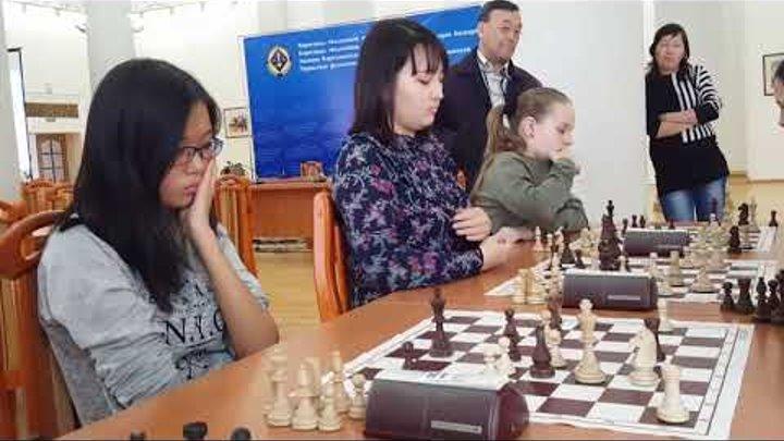 Чемпионат Республики Казахстан по быстрым шахматам среди мужчин и женщин (VII - тур)