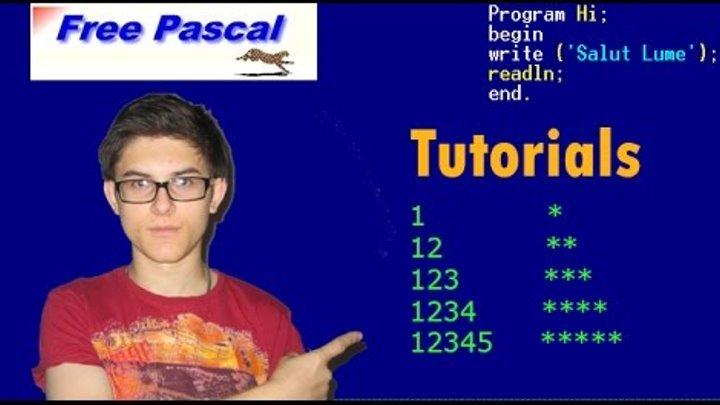 Pascal Tutorial, Danny explică 10 09 2014