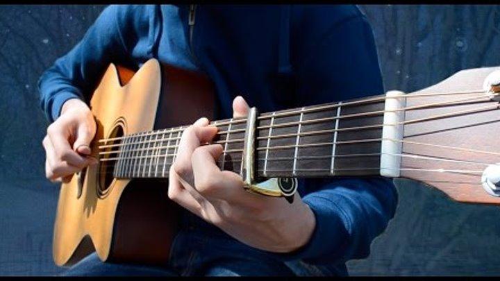Always in my Head - Coldplay (Fingerstyle guitar cover by Eddie van der Meer)