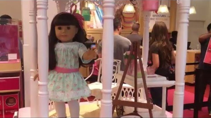 Кукла Америкен Герл American Girl Doll Store Full Walk Through level 1