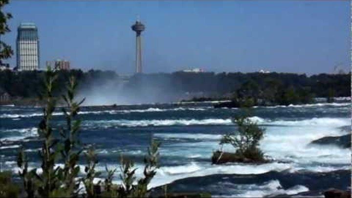 Niagara Falls Canada sharsharasi Şelalesi Ниагарский водопад 1