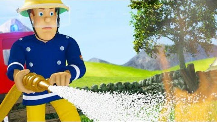 Пожарный Сэм на русском   Опасный Футбол 🚒 1 час Компиляция   Новые серии HD 🔥 мультфильм