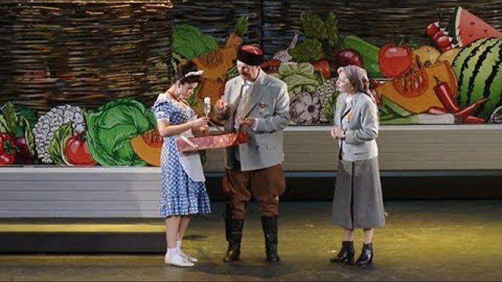 Краснодарский театр драмы представил лирическую комедию «Кубанские казаки»