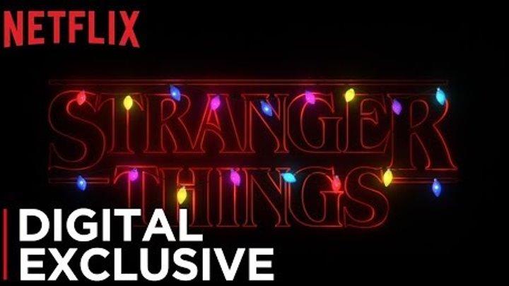 Stranger Things | Holidays Upside Down | Netflix