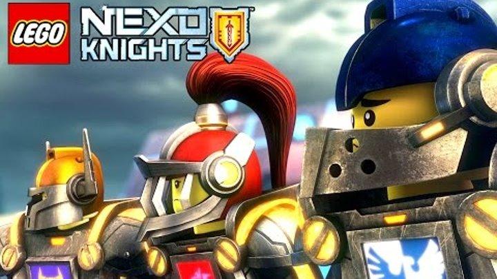 НОВЫЕ УРОВНИ ! ФОРТРЕКС ! Lego Nexo Knights Игра про Мультики Лего Нексо Найтс на русском языке