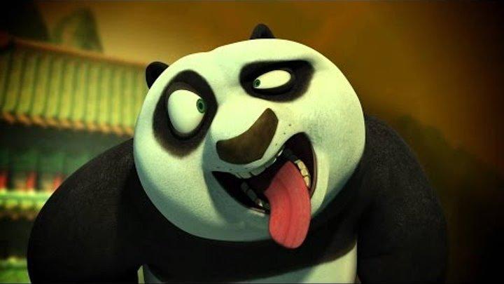 Мультики кунфу панда Сон По и Турнир воина дракона Kung Fu Panda для детишек