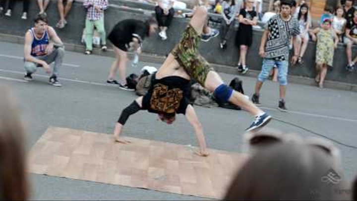 Уличные танцы Крещатика 2016 ч.4 - Khreshchatyk Street Dance 2016 p.4