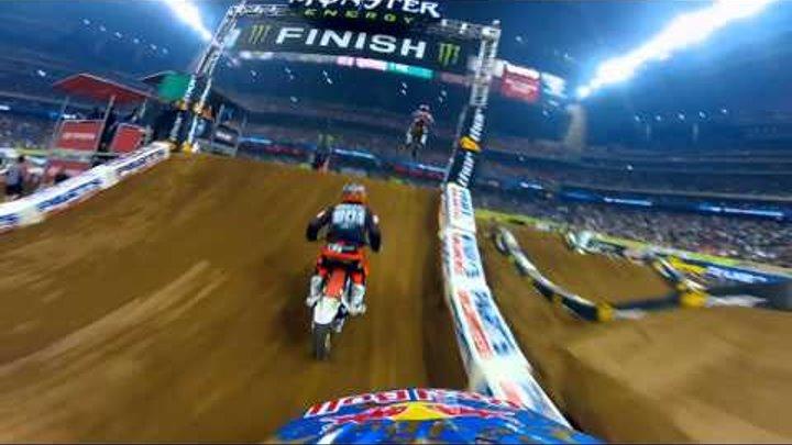 GoPro HD: James Stewart Main Event 2012 Monster Energy Supercross Houston