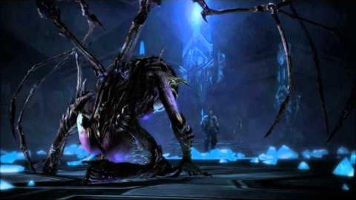 Kerrigan vs Narud - Starcraft 2: Heart of the Swarm Cinematic