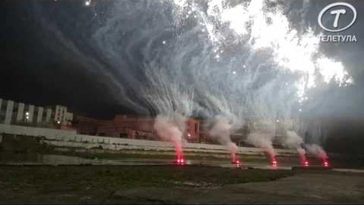 9 мая небо над Тулой осветилось праздничным салютом