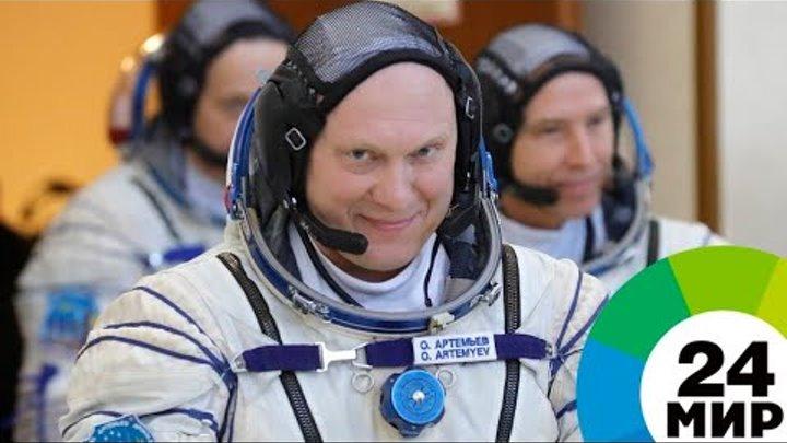 В Звездном проводили на Байконур новый экипаж МКС - МИР 24