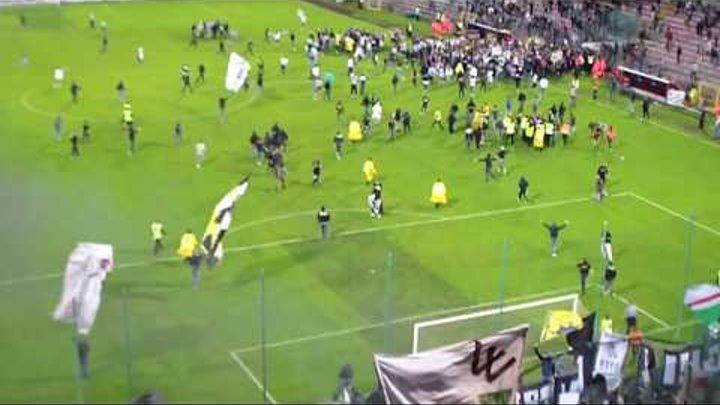 Fischio finale invasione campo Cagliari Vs JUVENTUS #30SULCAMPO