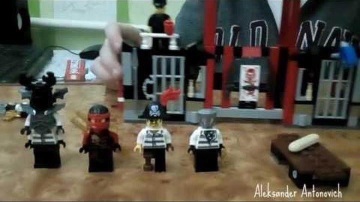 Лего Ниндзяго 70591 Побег из тюрмы Криптариум 207 деталей