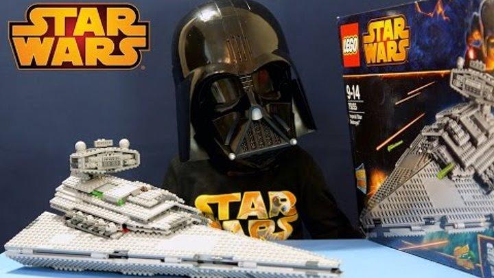 Лего Звёздные Войны 75055 + Маска Дарта Вейдера - Видео Обзор на русском языке