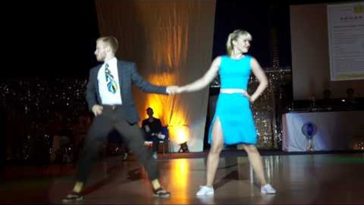 BB-DanceCamp 2017: Tatyana Georgievska (UKR) & Sondre Olsen-Bye (NOR), acrobatic Swing Dance