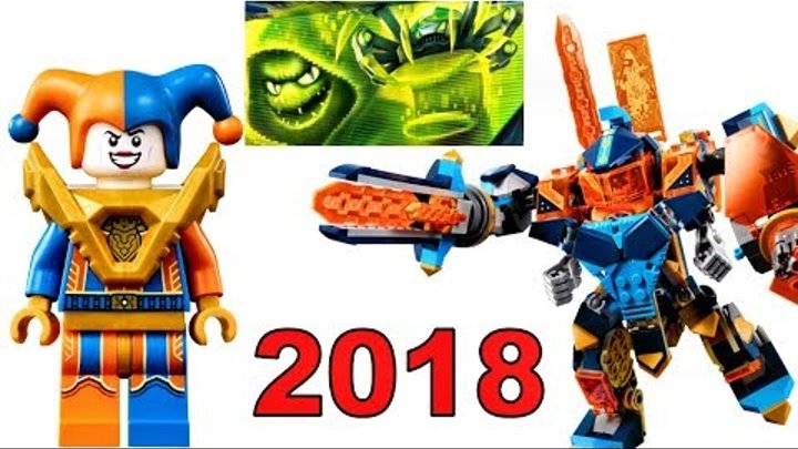 LEGO Nexo Knights 2018 наборы 5 сезон Нексо Рыцари мультика