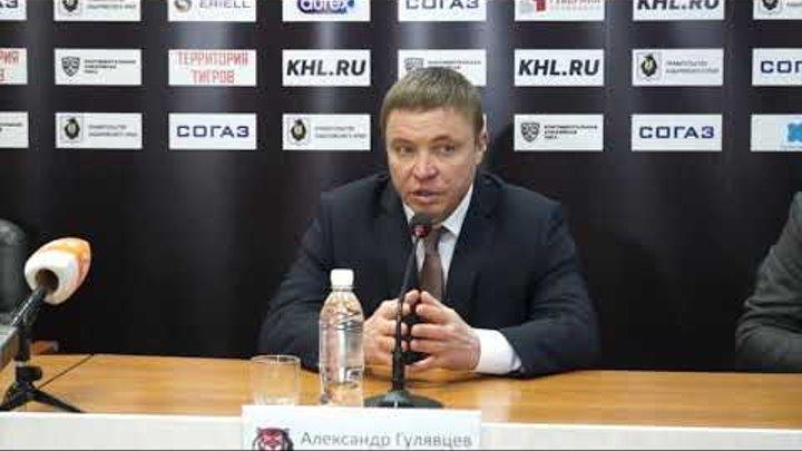 15.01.2019 / Amur - Lokomotiv / Press Conference