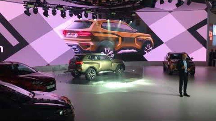 Lada 4x4 Vision на ММАС-2018