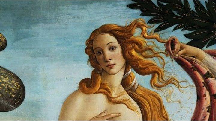 SANDRO BOTTICELLI - Nascita di Venere 1482-1485 - Musica di Vivaldi Primavera 1725