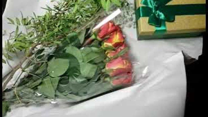 МАСТЕР - КЛАСС!!!Коробка с цветами своими руками