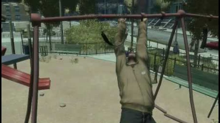 GTA 4 Приколы (Tricks) Part 2