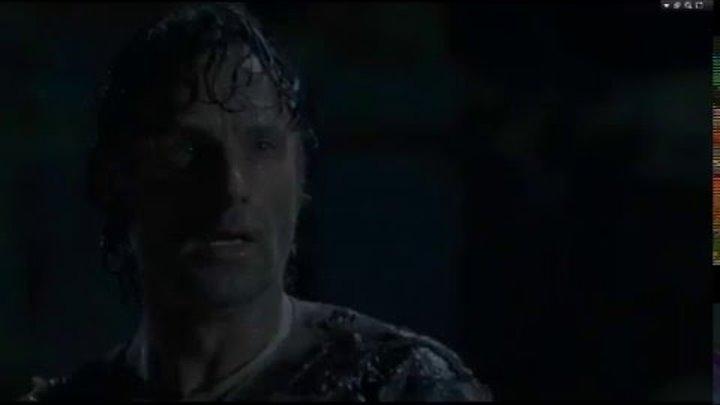 The Walking Dead 6 сезон 9 сери|Смерть Сэма, Рона, Джеси (Потеря глаза Карла)