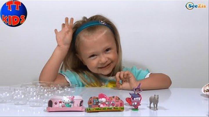 Смешарики яйца с сюрпризом игрушкой распаковка Surprise eggs unboxing Видео для детей Серия 4