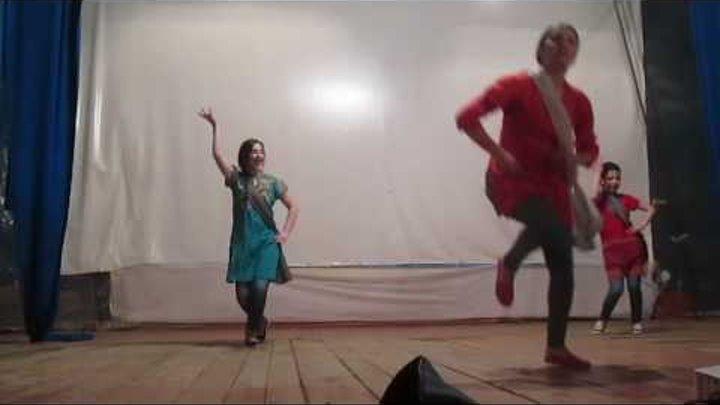 Indian group dance, Performance in Ijevan...Choreographer Meline Melikyan