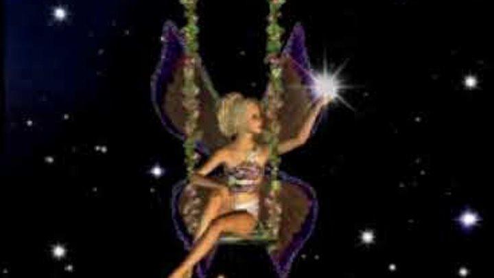 Ночная фея блондинка гифка